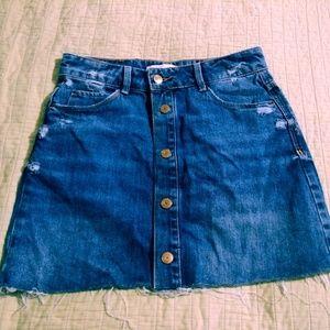 Zara jean skirt